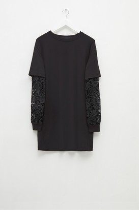 French Connection Sabinne Lace Sleeved Dress