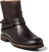 Polo Ralph Lauren Mersey Leather Moto Boot