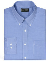 Lauren Ralph Lauren Non-Iron Blue Micro-Gingham Dress Shirt