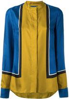 Diane von Furstenberg colour-block shirt
