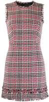 Paule Ka sleeveless tweed dress