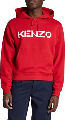 Kenzo Men's Classic Logo Hoodie Sweatshirt