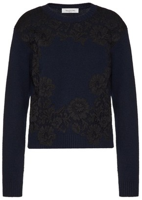 Valentino Wool-Cashmere Sweater