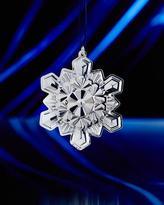 Gorham 2016 Sterling Silver Snowflake Christmas Ornament