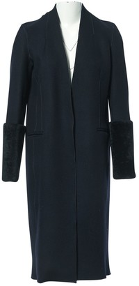 Amanda Wakeley Black Wool Coat for Women