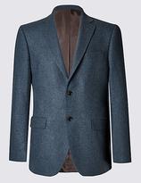 Collezione Pure Cashmere 2 Button Semi Plain Jacket