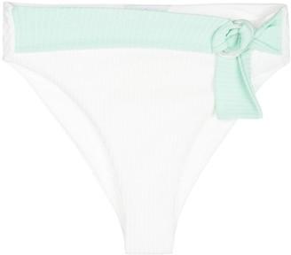 Onia Anais ribbed bikini bottoms