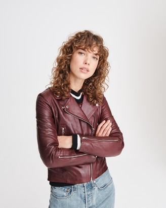 Rag & Bone Mack leather jacket
