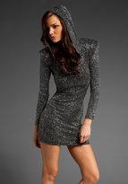 Brian Lichtenberg Hooded Dress