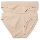 Gilligan & O Women's 2-Pack Seamless Bikini - Gilligan & O'Malley