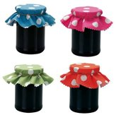 Faringdon Collection Rushbrookes Jam pot covers, pack of 8 Assorted