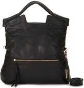 Foley + Corinna Classic Mid City Tote in Black with Gold Hardware