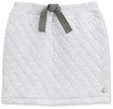 Petit Bateau Girls padded tube knit skirt