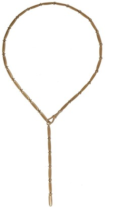 Pascale Monvoisin 9kt yellow gold Nico N1 necklace