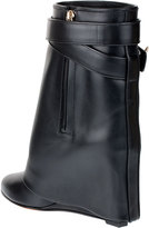 Givenchy Shark lock fold-over ankle boot