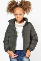 boohoo Girls Padded Winter Coat