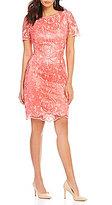 Preston & York Brenda Lace Sheath Dress