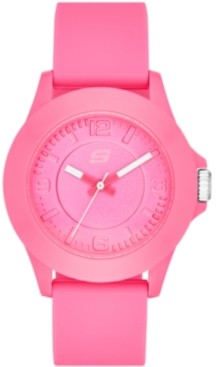Skechers Women's Rosencrans Silicone Strap Watch 41.5mm
