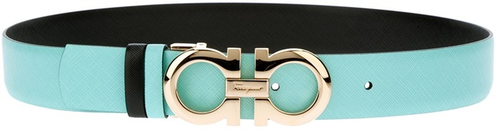 Salvatore Ferragamo reversible logo belt
