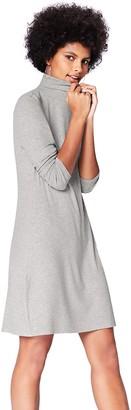 Find. Amazon Brand Women's Rib Swing Long Sleeve Dress
