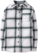 Crazy 8 Plaid Flannel Shirt