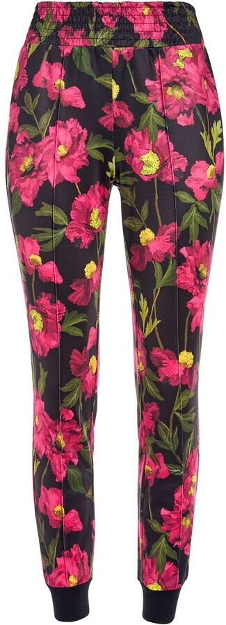 Alice + Olivia Floral Print Leggings