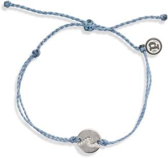 Pura Vida Pave Wave Charm Bracelet