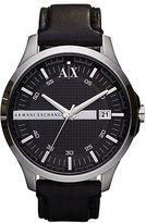 Armani Exchange Mens Hampton 3 Hand Watch