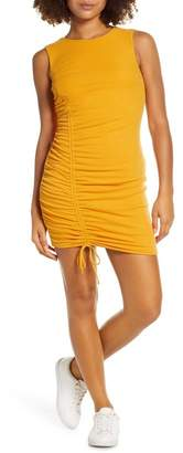 Ali & Jay On the Rocks Ruched Knit Body-Con Dress
