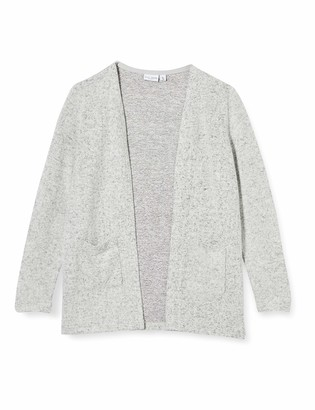 Name It Girls' NKFVICTI LS Knit Card L Cardigan