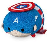 Disney Captain America ''Tsum Tsum'' Plush - Mini - 3 1/2''