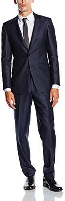 BlueBlack Men's Slim Fit Suit Rovigo,(manufacturer size: )