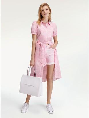 Tommy Hilfiger Short-Sleeve Shirt Dress