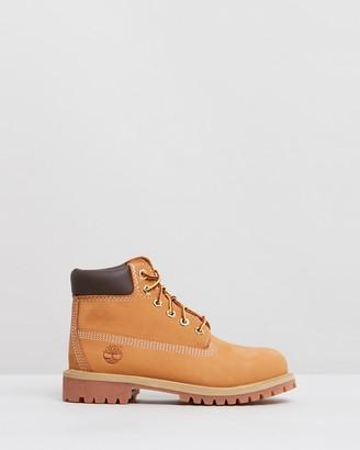 Timberland 6-Inch Premium Waterproof Boots - Kids-Teens
