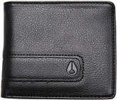 Nixon Showdown Bi Fold Zip Wallet Black