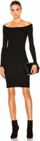 Enza Costa Off The Shoulder Mini Dress