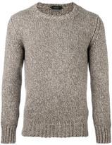 Zanone fisherman knit jumper