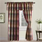 UNITED CURTAIN CO United Curtain Co Plaid Rod-Pocket Curtain Panel