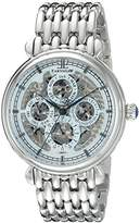 Thomas Earnshaw Men's ES-8043-22 Grand Calendar Analog Display Automatic Self Wind Silver Watch