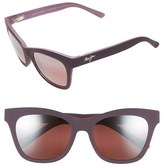 Maui Jim 'Sweet Leilani' 53mm Cat Eye Sunglasses