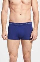 Calvin Klein Men's 3-Pack Stretch Cotton Low Rise Trunks