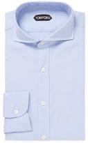 Tom Ford Solid Spread Dress Shirt