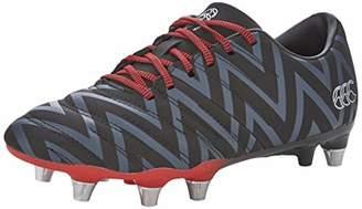 Canterbury of New Zealand Unisex Adult's Phoenix 2.0 Soft Ground Rugby Boots, Black (Black Adult Unisex), 15 (51 EU)