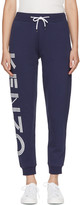 Kenzo Navy Logo Track Pants