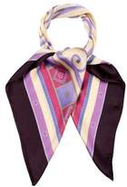 Lanvin Printed Silk Scarf