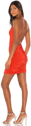 superdown Troy Strappy Ruched Dress