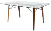 Lumisource Trilogy Mid-Century Modern Dining Table
