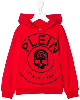 Philipp Plein Junior 20th Anniversary Hoodie Sweatshirt