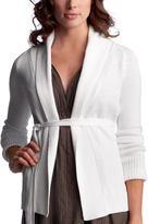 Gap Belted shawl-collar cardigan