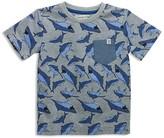 Sovereign Code Boys' Shark Print Tee - Sizes 2-7